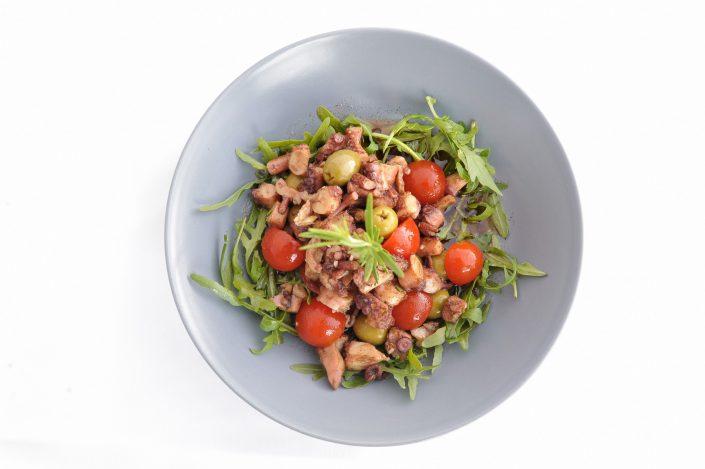 vracko - kulinarika - predjed - kalte vorspeise - starter - solata hobotnice - krakensalat - octopus salad - 5
